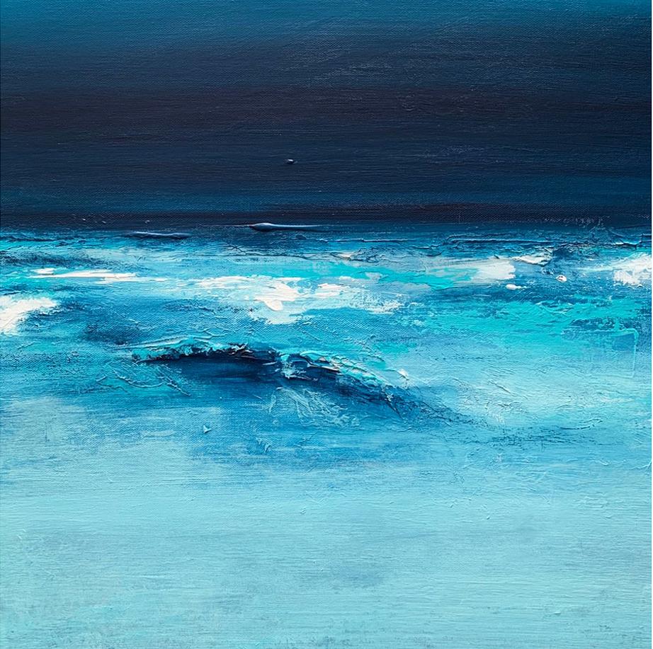 'Blue Sands' Painting