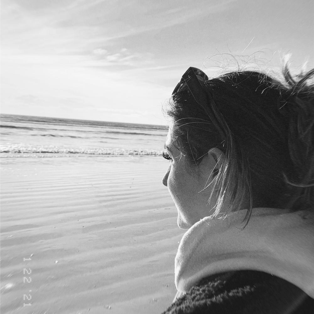 Lauren Baker At Sea